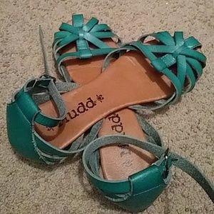MUDD Leather Sandals-Like NEW